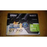 En Venta 100% Nuevo Tarjeta De Video Msi Geforce Gt710 2gb