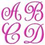 Coleção Bordados - Alfabeto Monograma Frete Grátis