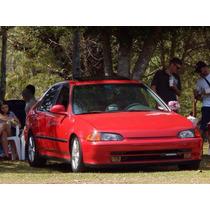 Honda Civic Sedan 1.6 16v Jdm - Não É Turbo Tunning Impreza