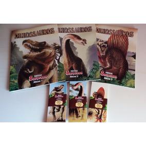Álbum Dinossauros Nestlé Surpresa 2017 - Completo