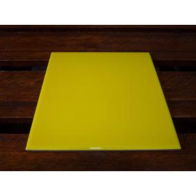 Azulejos Cerámicos De Colores 15 X 15 Color: Amarillo