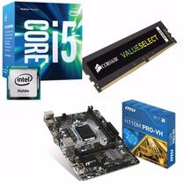 Combo Actualizacion Pc Intel I5 6400 + Mother + 8gb Ddr4