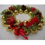 Guirlanda De 21,5cm Para Sua Porta -decoração Enfeites Natal