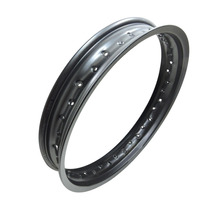Par Aro Moto Alumínio Preto Fosco Para Bros 17x215+19x185