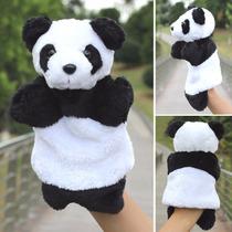Fantoche De Mão De Pelúcia De Panda Brinquedo Educativo