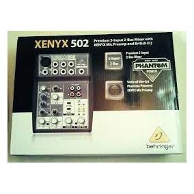 Mesa De Som Behringer Xenyx 502 Mixer Original