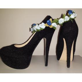 9cbbad14 Tacones Flores - Zapatos Mujer De Vestir y Casuales en Miranda en ...