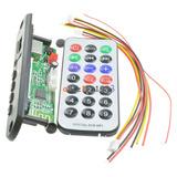 Modulo Adaptador, Usb, Microsd, Fm, Bluetooth, Estereo