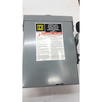 Square D Interruptor De Seguridad 1537 30a 240v