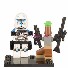 Figuras Compatibles Con Lego Star Wars Clon Capitan Rex