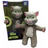 Boneco Gato Talking Tom Repete O Que Você Fala Original