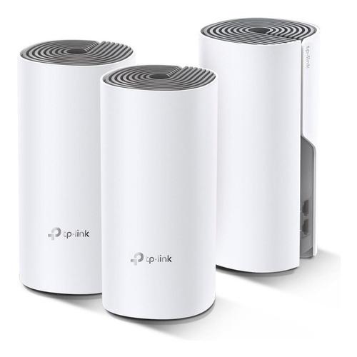 Access point, Roteador, Sistema Wi-Fi mesh TP-Link Deco M4  branco 100V/240V 3 unidades