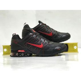 Tenis Nike Shox Air Ultra Tuned Air Nuevos Black And Red