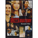 Grey S Anatomy Temporada 1 Uno Serie De Tv En Dvd