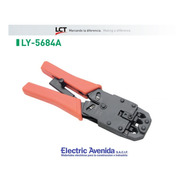 Pinza Crimpeadora Rj9 Rj11 Rj45 Ly-5684a Lct Electricavenida