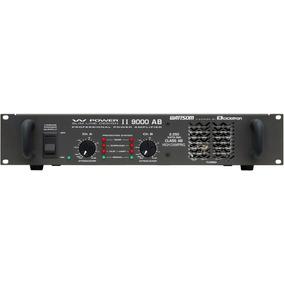 Amplificador De Potencia Ciclotron W Power Ii 9000 Ab