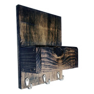 Porta Chaves De Parede Decorativo Porta Trecos Art Madeira