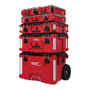 Combo Caja De Herramientas Apilable Milwaukee Packout Comple