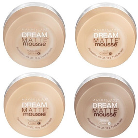 Base Creme Rosto Dream Mate Mouse Maybelline -todas As Cores