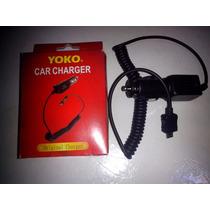 Cargador V8 Mini Usb Yoko Para Automovil