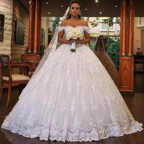 Vestido De Noiva Elegante Tomara Que Caia