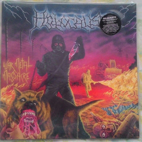 Vinil Holocausto War Metal Massacre Importado, Death Metal