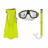 Kit Mergulho Western Nadadeira + Mascara + Snorkel Infantil