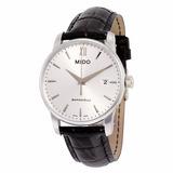 Relógio Mido Baroncelli Pulseira De Couro M0134101603100