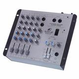 Mesa De Som Mixer Ll Audio Star 4 - 12v 4 Canais Com Efeitos