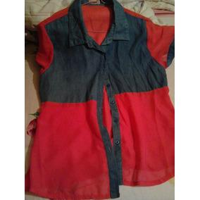 Camisa De Chifon Talla M
