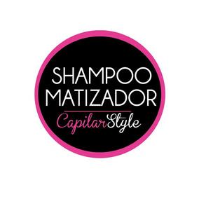 Shampoo Matizador X 5litros Azul O Violeta.. Envio Gratis