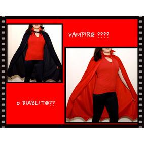 Capas De Diablo Y Vampiro Para Halloween