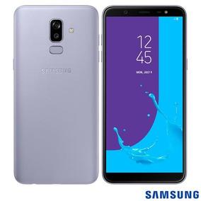 Samsung Galaxy J8 Prata 6 , 4g, 64gb 16mp+5mp - Sm-j810mz