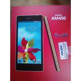 Celular Amgoo450 8gb / 8mpx Nuevo De Paquete (color Negro)