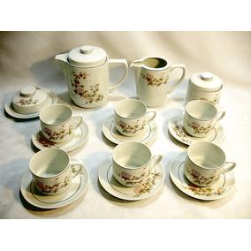 Jogo De Café Ou Chá Porcelana Schmidt Decada 70