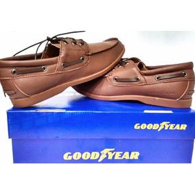 Zapato Goodyear Canadiense Náutico Liviano Local Microcentro