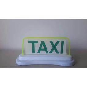 Luminoso Taxi Lcd Imantado Em Acrílico