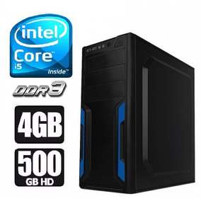 Cpu Intel Core I5 / 4gb / 500gb