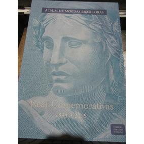 Album Completo - Moedas Real Comemorativas - 1994 A 2016