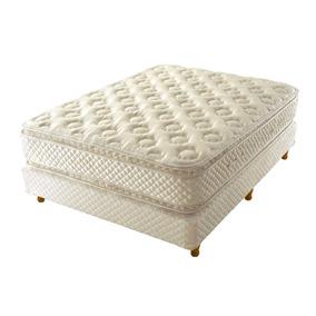 Conjunto Sommier Colchon Cannon Sublime Top Pillow 140x190