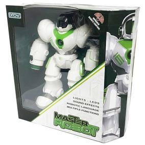 Master Robot R/c Dispara Misiles