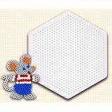 Hama Beads Original - Midi Placa Hexágono Grande