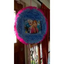 Piñatas Infantiles Tambor ..todos Los Personajes !!