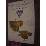 Manual De Instrucciones Repuestos Motor Clinton Mod 406/7
