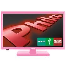 Tv Led 20 Philco Hdtv - Rosa - Ph20u21dr
