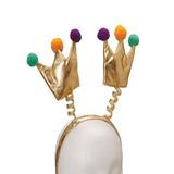Mardis Gras Crown Cabezadas + Envio Gratis