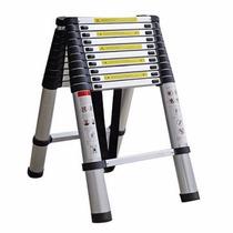 Escalera telescopica extensible escalera de aluminio en for Escalera aluminio telescopica extensible