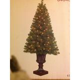 Arbolito De Navidad Preiluminado 121 Centimetros