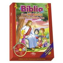Livro A Bíblia Em Uma História Para Cada Dia Do Ano + Brinde