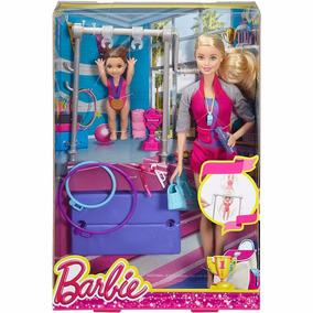 Boneca Barbie Treinadora De Ginástica - Mattel